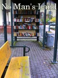 Bus stop bookshelf